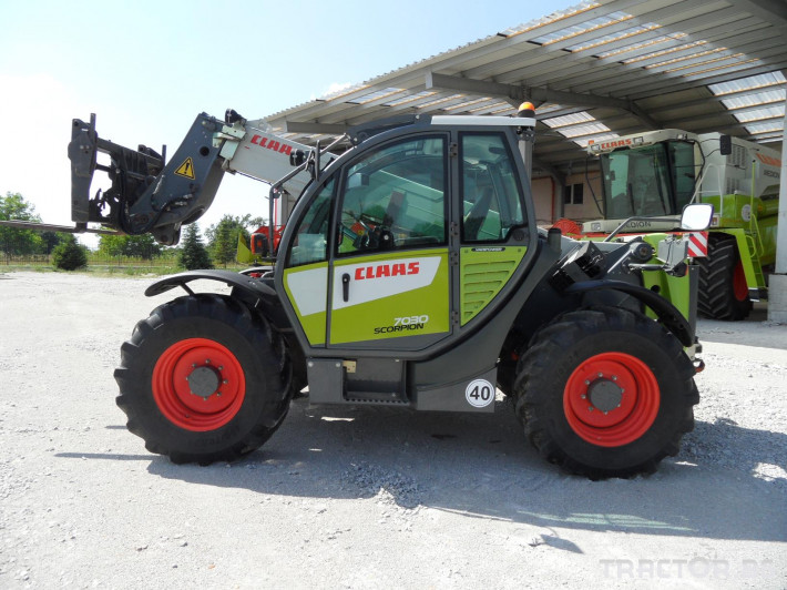 Телескопични товарачи Claas Scorpion 7030 1