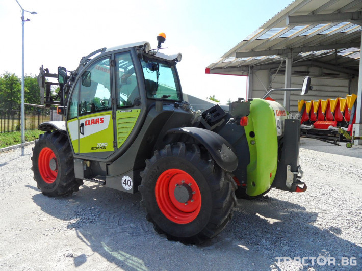 Телескопични товарачи Claas Scorpion 7030 2