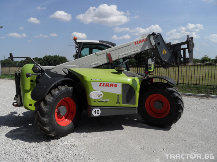 Телескопични товарачи Claas Scorpion 7030 4