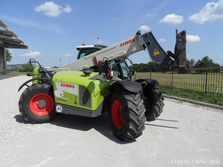 Телескопични товарачи Claas Scorpion 7030 5