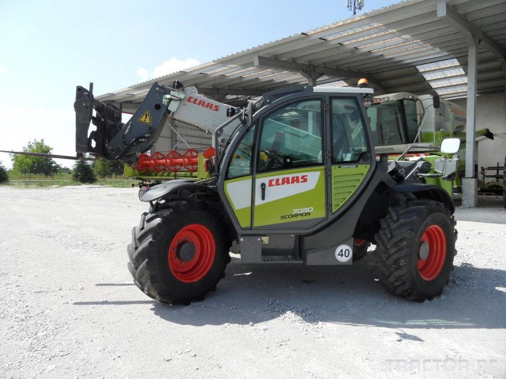Телескопични товарачи Claas Scorpion 7030 7