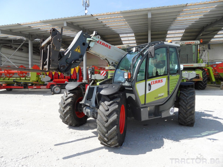 Телескопични товарачи Claas Scorpion 7030 8