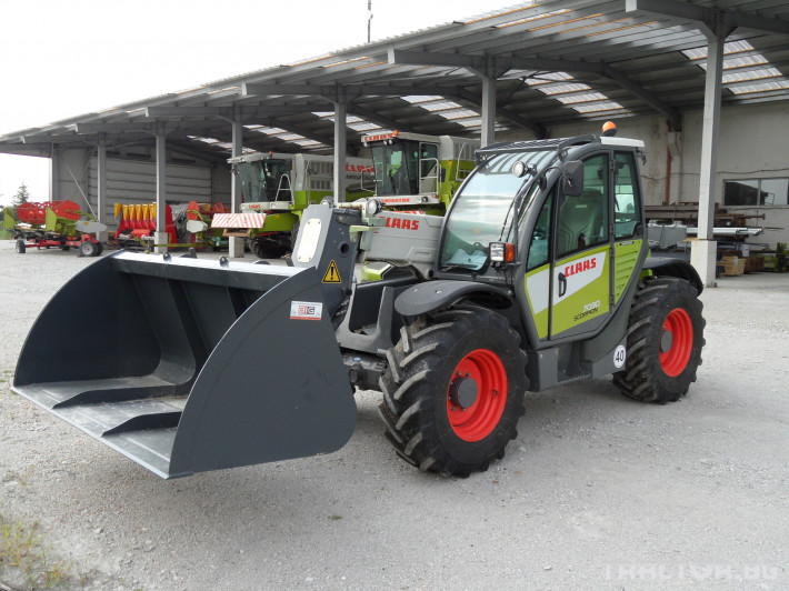 Телескопични товарачи Claas Scorpion 7030 0
