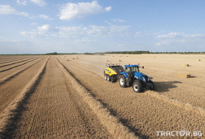 Сламопреси NEW HOLLAND BIGBALER 2 - Трактор БГ