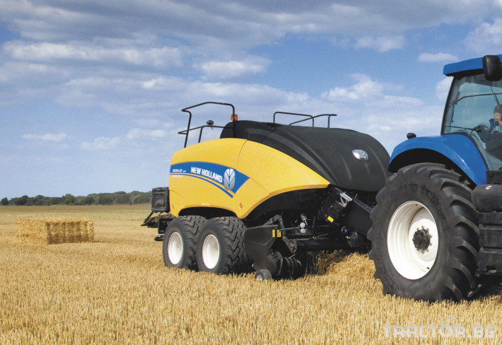 Сламопреси NEW HOLLAND BIGBALER 1 - Трактор БГ