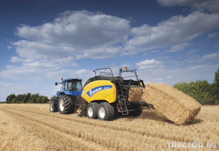 Сламопреси NEW HOLLAND BIGBALER 0 - Трактор БГ
