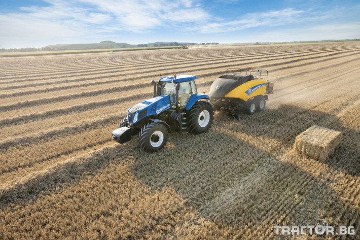 Сламопреси NEW HOLLAND BIGBALER 3 - Трактор БГ