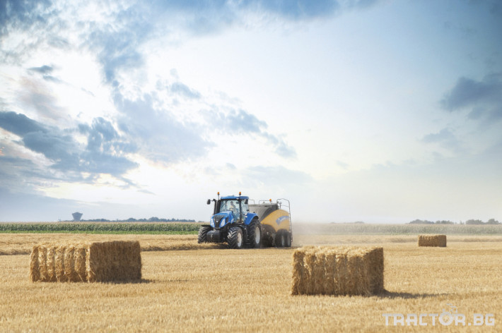 Сламопреси NEW HOLLAND BIGBALER 4 - Трактор БГ
