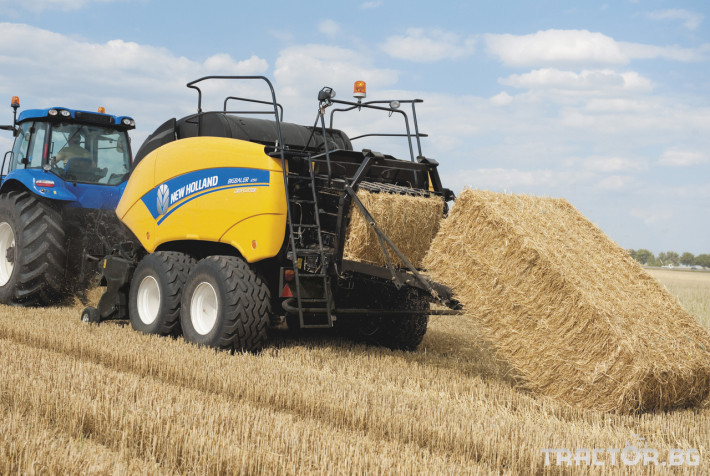 Сламопреси NEW HOLLAND BIGBALER 18 - Трактор БГ