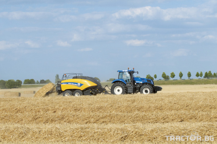 Сламопреси NEW HOLLAND BIGBALER 5 - Трактор БГ