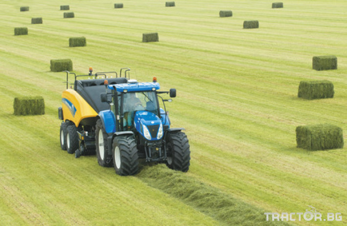 Сламопреси NEW HOLLAND BIGBALER 7 - Трактор БГ