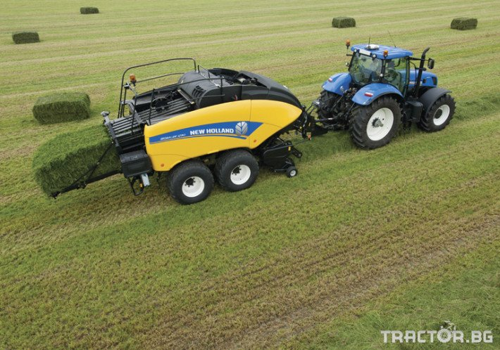 Сламопреси NEW HOLLAND BIGBALER 8 - Трактор БГ