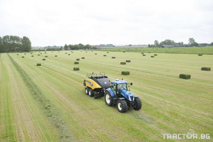 Сламопреси NEW HOLLAND BIGBALER 9 - Трактор БГ