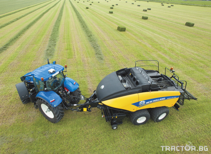 Сламопреси NEW HOLLAND BIGBALER 10 - Трактор БГ