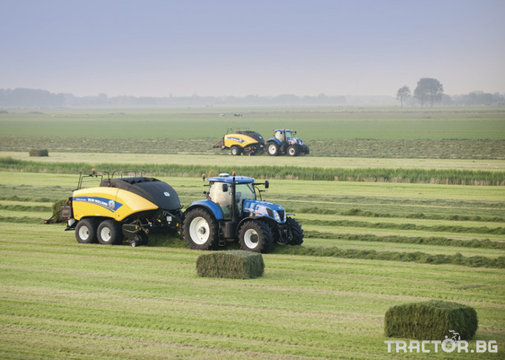 Сламопреси NEW HOLLAND BIGBALER 11 - Трактор БГ