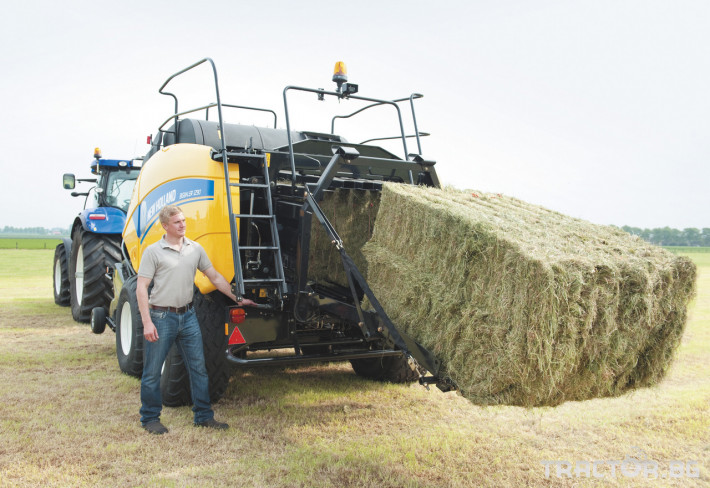 Сламопреси NEW HOLLAND BIGBALER 12 - Трактор БГ