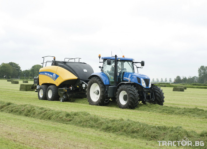 Сламопреси NEW HOLLAND BIGBALER 13 - Трактор БГ