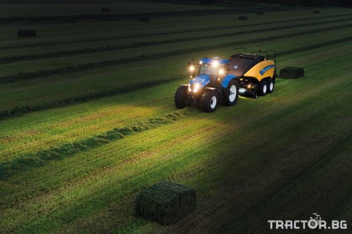 Сламопреси NEW HOLLAND BIGBALER 17 - Трактор БГ