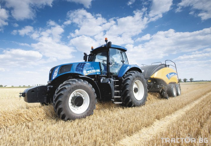 Сламопреси NEW HOLLAND BIGBALER 6 - Трактор БГ