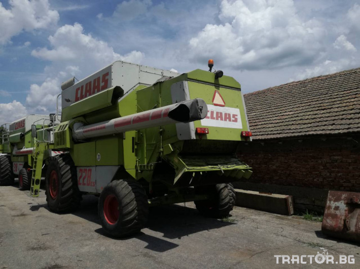 Комбайни Claas Commandor 228 1