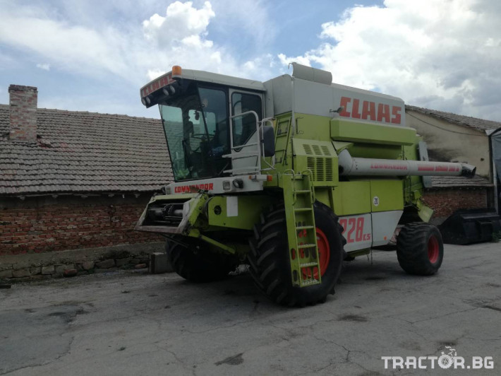 Комбайни Claas Commandor 228 8