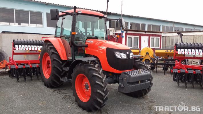 Трактори Kubota М 108 S 9 - Трактор БГ