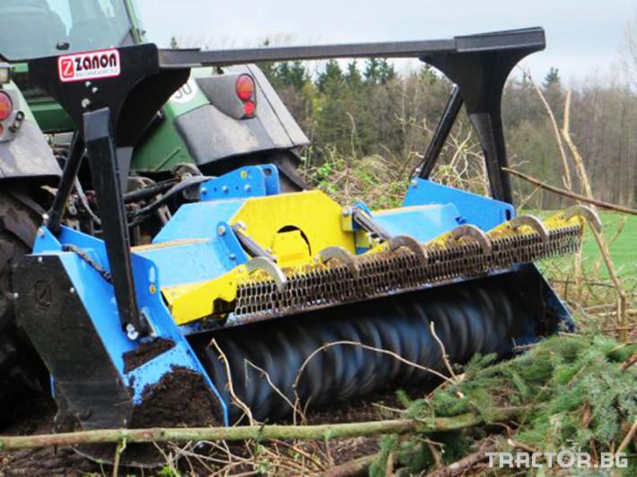 Мулчери Горски мулчер ZANON модел TN/DT 1 - Трактор БГ