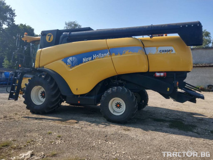 Комбайни New-Holland New Holland CX 8080 1 - Трактор БГ