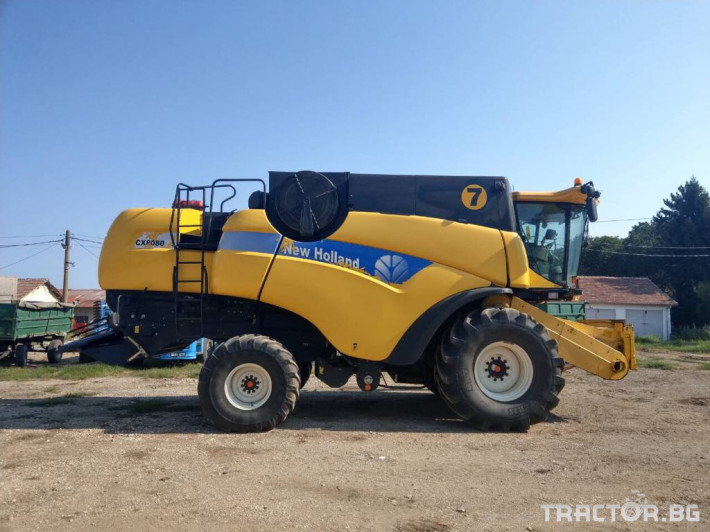 Комбайни New-Holland New Holland CX 8080 12 - Трактор БГ