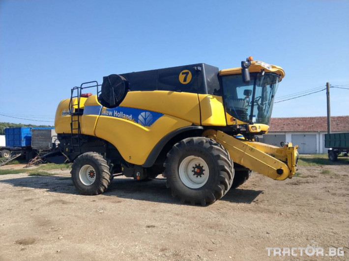 Комбайни New-Holland New Holland CX 8080 26 - Трактор БГ