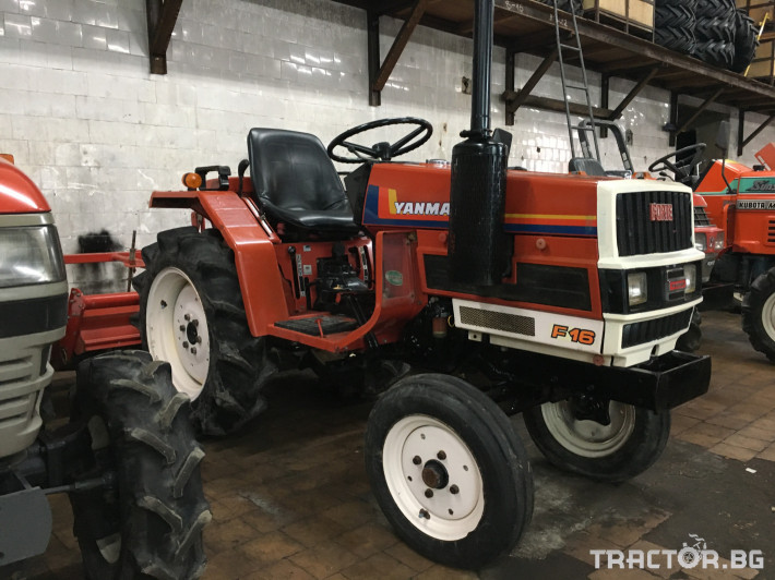 Трактори Yanmar F16 2 - Трактор БГ