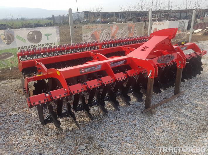 Брани 3,5 метра и 4.0 метра навесни 1 - Трактор БГ