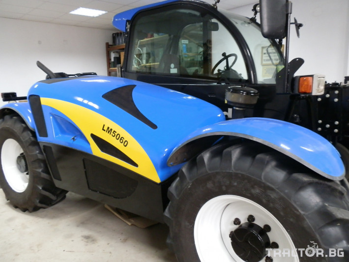 Телескопични товарачи New-Holland LM5060 0