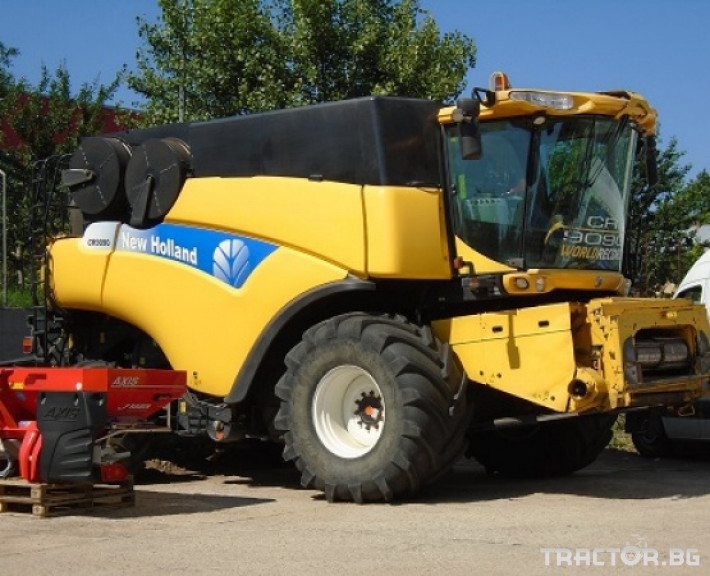 Комбайни New Holland CR 9090 Двуроторен комбайн 0