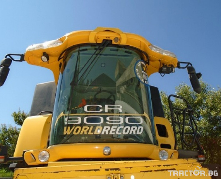 Комбайни New Holland CR 9090 Двуроторен комбайн 5