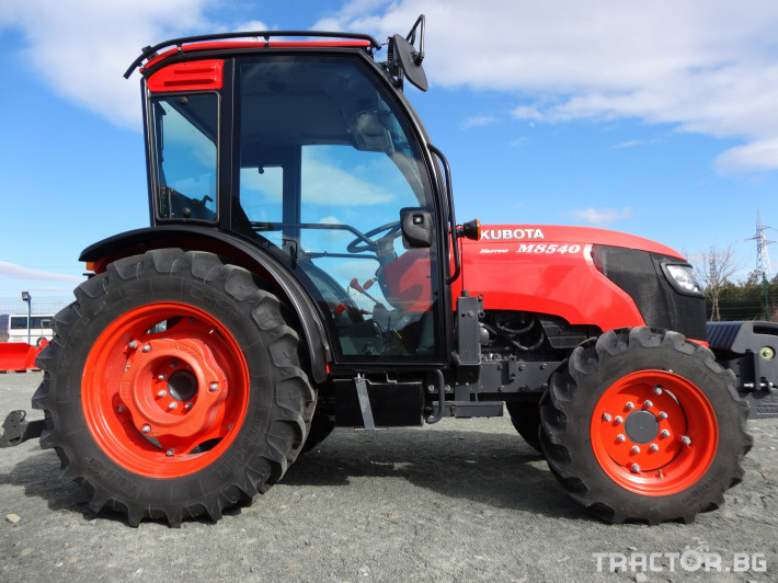 Трактори Kubota M 8540 NARROW 3