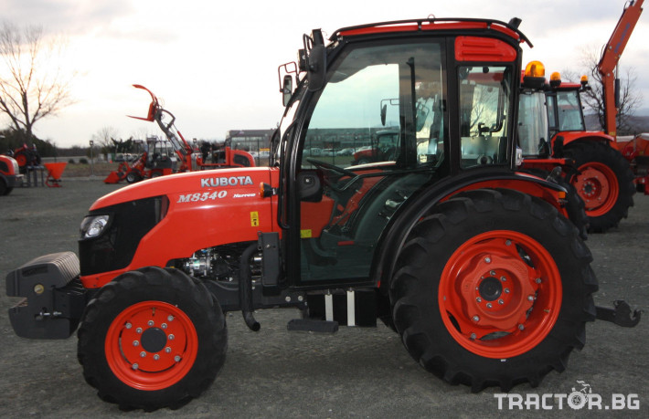 Трактори Kubota M 8540 NARROW 8