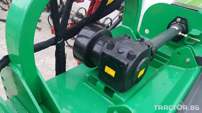 Машини за лозя / овошки Geo-Italy МУЛЧЕР РАЗДРОБИТЕЛ НА КЛОНИ ДВУРОТОРЕН 20 - Трактор БГ