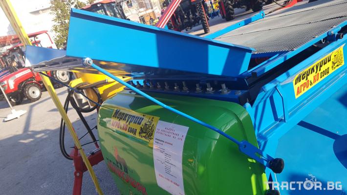 Машини за зеленчуци МАШИНА ЗА ОБЕЗЛИСТВАНЕ НА ЛУК 8 - Трактор БГ