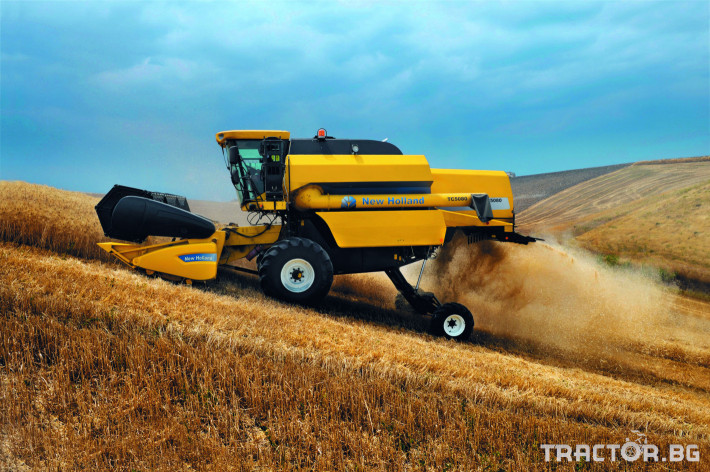 Комбайни New Holland TC 3 - Трактор БГ
