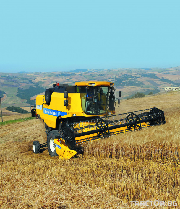 Комбайни New Holland TC 5 - Трактор БГ