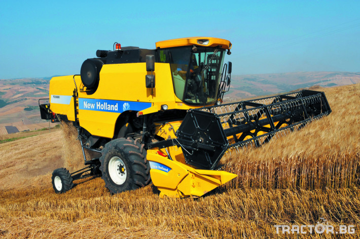 Комбайни New Holland TC 6 - Трактор БГ