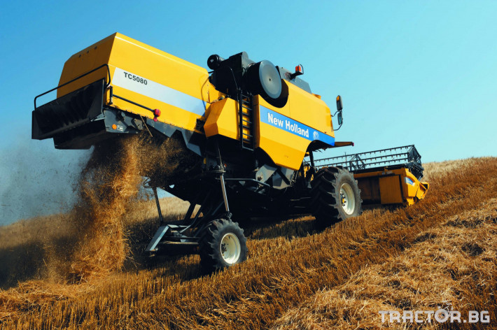 Комбайни New Holland TC 7 - Трактор БГ