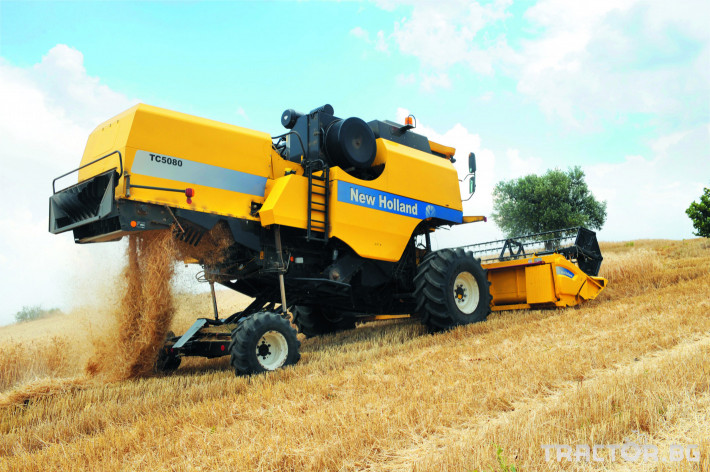 Комбайни New Holland TC 9 - Трактор БГ