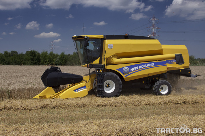 Комбайни New Holland TC 14 - Трактор БГ