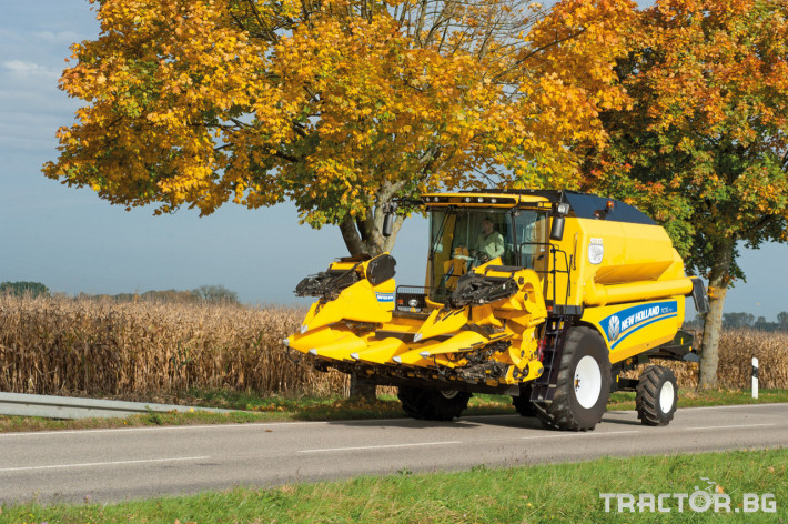 Комбайни New Holland TC 16 - Трактор БГ