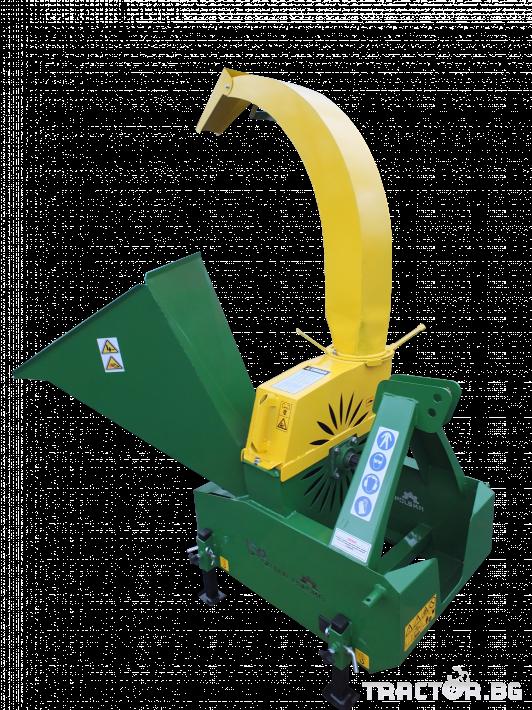 Машини за лозя / овошки Шредер-Дробилка на клони R-17 до 12 см. 2