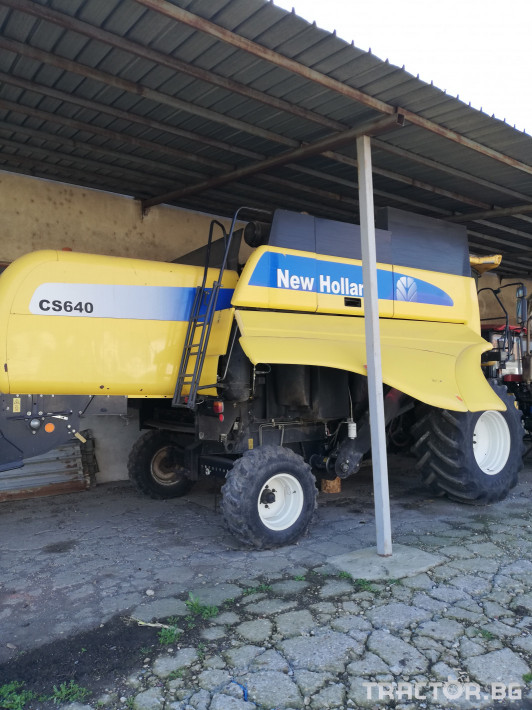 Комбайни New-Holland CS 640 0