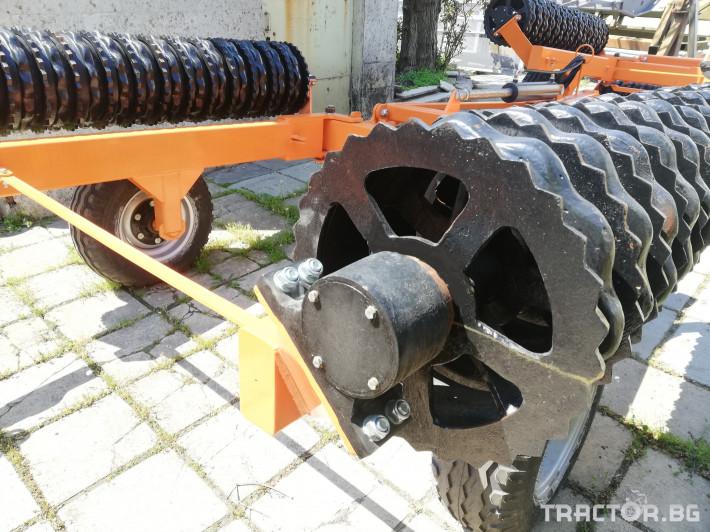 Валяци Хидравлични валяци - Стандартен тип, Металагро АД  - 4,5 м и 6 м 3