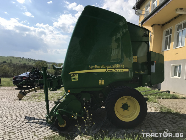 Сламопреси John-Deere 864 MAXI CUT + COVER EDGE ЛИЗИНГ 2